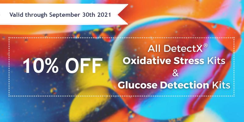 DetectX® Glucose Detection Kits promotion